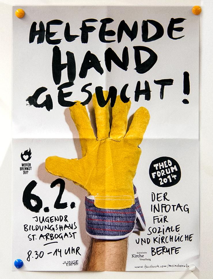 Helfende Hand gesucht